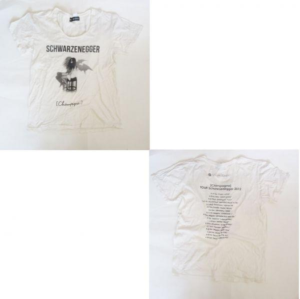 [Alexandros] TOUR Schwarzenegger 2012 Tシャツ [Champagne](シャンペイン) アレクサンドロス グッズ