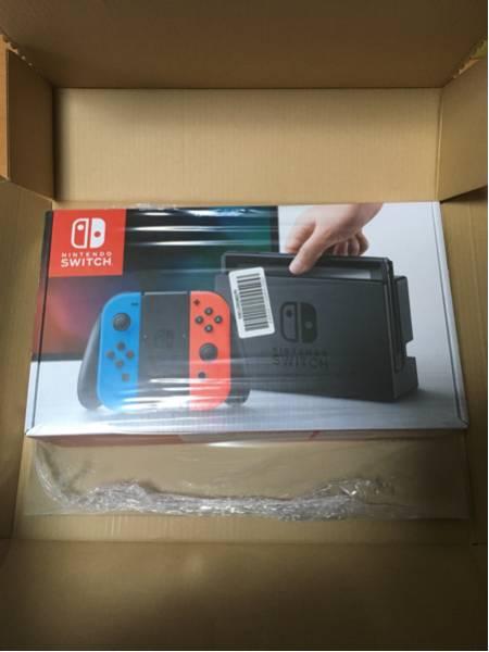 1円スタート!新品未開封 ニンテンドースイッチ Nintendo switch【入金後即日発送可】