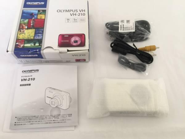 【新品・未使用】OLYMPUS デジタルカメラ VH-210 ホワイト