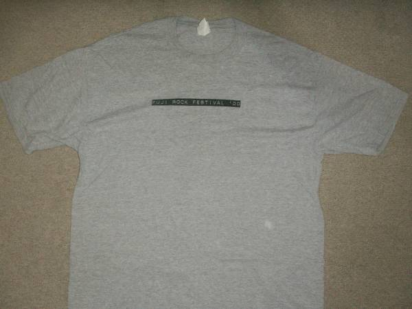 FUJI ROCK FESTIVSAL 2000 Tシャツ フジロック サマソニ ライブグッズの画像