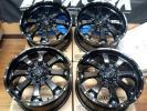 さらに値下げ上物☆美品☆MKW MK-46 ブラック 4本セット☆JEEPラングラーJK,グランドチェロキー