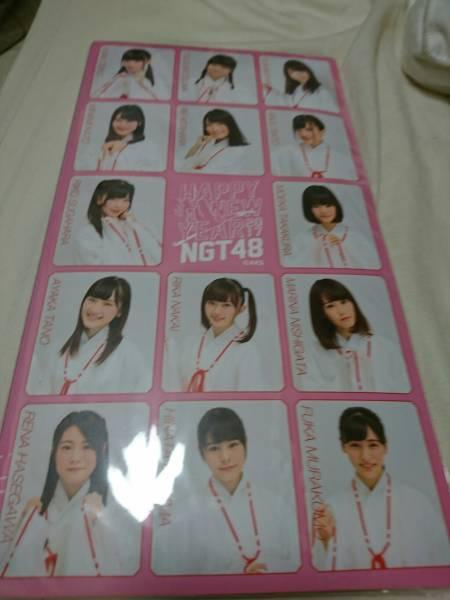 NGT48 福袋 2017 特典 3段フォトアルバム ピンク  ライブグッズの画像