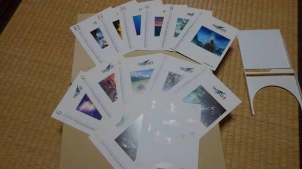 FF7 FFⅦ 卓上カレンダー ポストカード ファイナルファンタジーⅦ FinalFnatasy7 ファイナルファンタジー7 グッズ クラウド エアリス グッズの画像