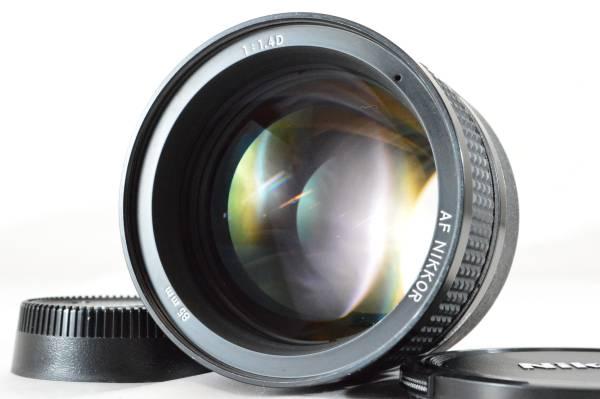 E20★美品★ニコン Nikon AI AF NIKKOR 85mm F1.4D IF 【明るい中望遠】#799-47k