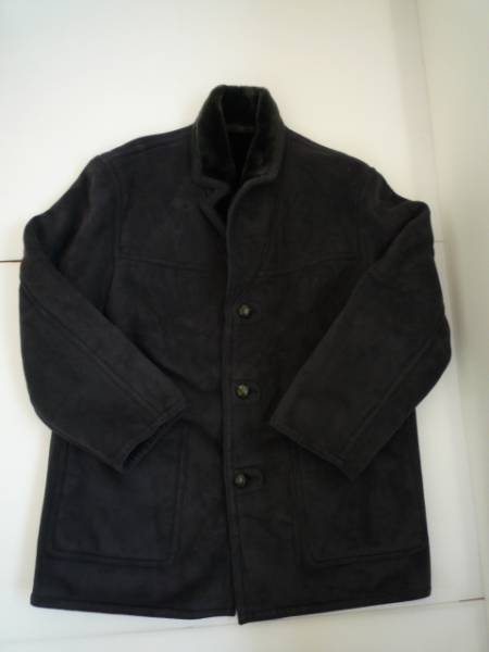 【お買い得!】 ◆ (株)プロシード ◆ 長袖ジャケット 黒系 無地 ロング L