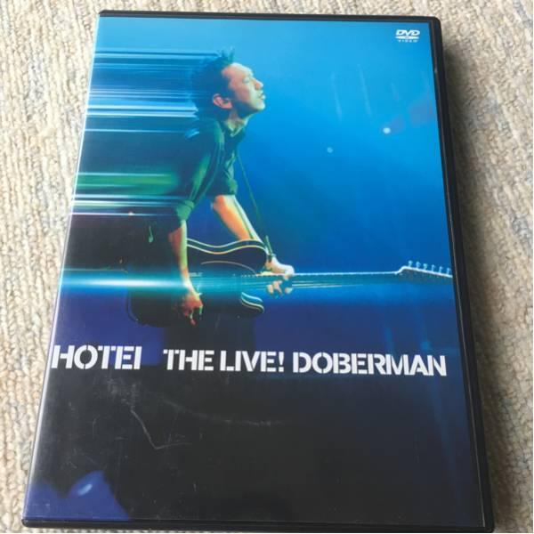 布袋寅泰 HOTEI THE LIVE! DOBERMAN ライブグッズの画像