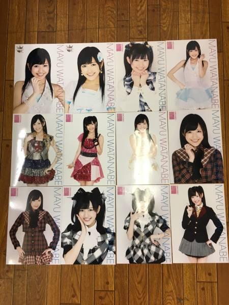 B56 AKB48 渡辺麻友 A4 生写真 ポスター 31枚セット