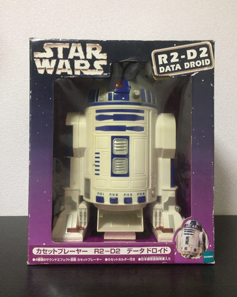 スターウォーズ R2-D2 カセットプレーヤー データ ドロイド グッズの画像