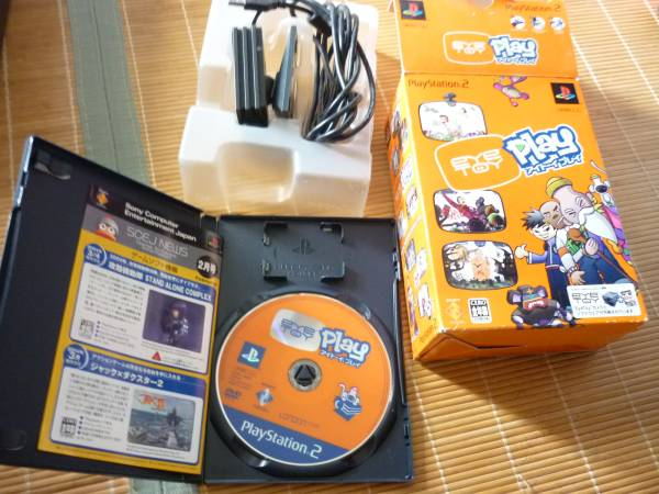 PS2 ☆ Eye Toy Play ☆ camera and special software used