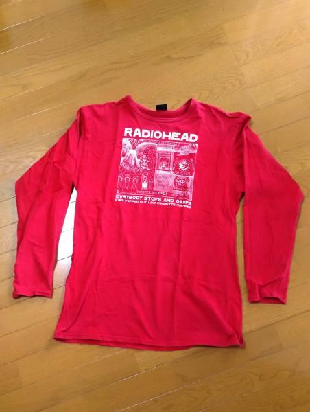 RADIOHEAD レディオヘッド Tシャツ ロングT オフィシャル XL