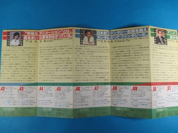 希少アニメ資料★「TVキャラクター年鑑」1975~1982年_画像2