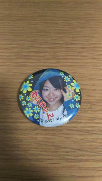 【美品】AKB48 峯岸みなみ 缶バッジ 激レア ライブ・総選挙グッズの画像
