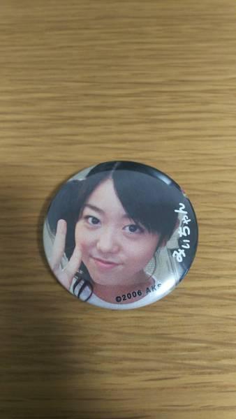 【美品】 AKB48 峯岸みなみ 缶バッジ 激レア ライブ・総選挙グッズの画像