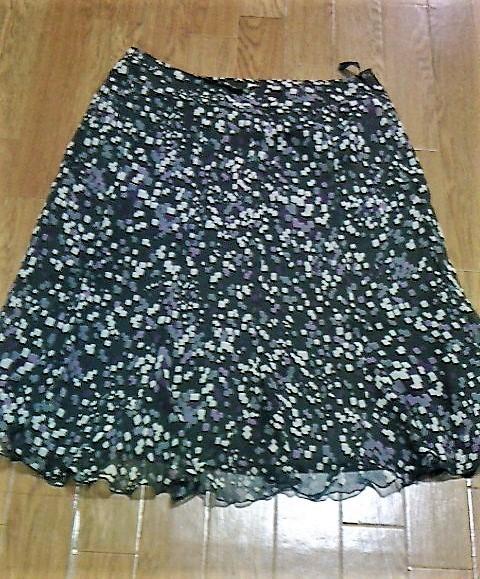 アリスバーリー シックなモザイク柄スカート 新品未使用 春夏 大きいサイズ_画像1