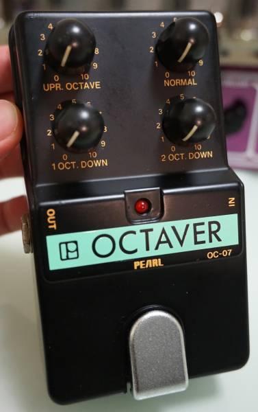 ☆送料無料♪ PEARL OCTAVER OC-07 OCTAVE パール オクターバー 美品 ニアミント☆