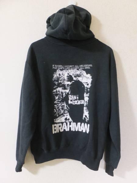 BRAHMAN ブラフマン スウェット パーカー Mサイズ 黒 TOSHI-LOW FOR ONE'S LIFE