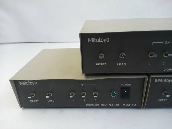 MPI2★ミツトヨ マルチプレクサー 計測データ転送装置 MUX-10 3台セット_画像2