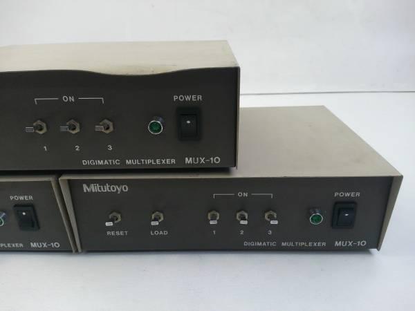 MPI2★ミツトヨ マルチプレクサー 計測データ転送装置 MUX-10 3台セット_画像3