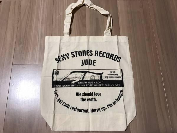 【未使用】 JUDE / 非売品 トートバッグ  浅井健一 sexy stones records ブランキー BJC sherbets ライブグッズの画像