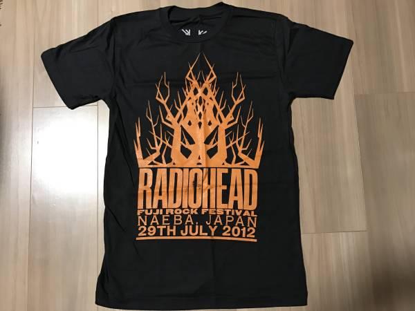 【未着用】 RADIOHEAD / FUJIROCK 2012 Tシャツ 黒Sサイズ FUJI フジロック RADIO HEAD