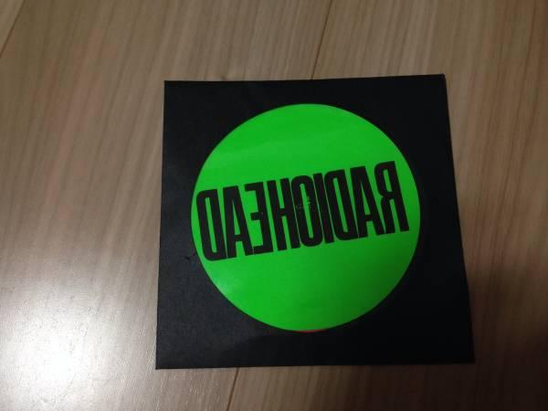 【未開封】 RADIOHEAD ステッカー/ summer sonic サマーソニック 2016 サマソニ RADIO HEAD ライブグッズの画像
