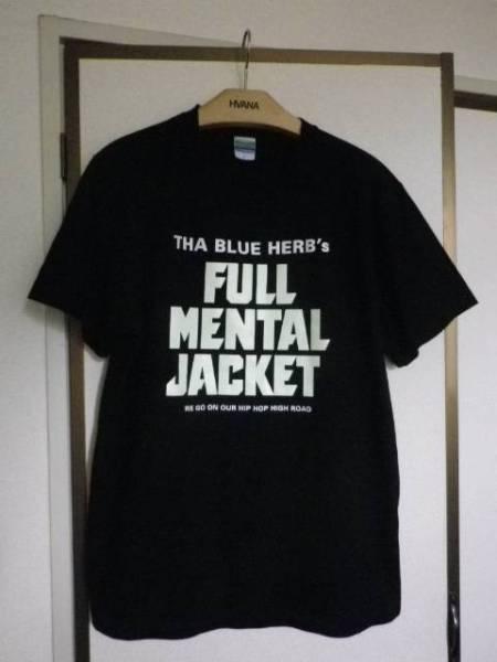 THA BLUE HERB ブルーハーブ FULL MENTAL JACKET Tシャツ Lサイズ ブラック