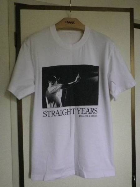 THA BLUE HERB STRAIGHT YEARS ザ ブルーハーブ フォトプリント Tシャツ M-L位
