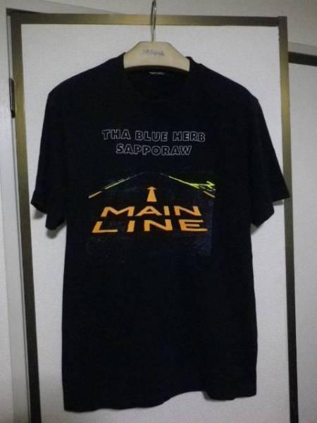 THA BLUE HERB SAPPORAW MAIN LINE ザ ブルーハーブ Tシャツ Mサイズ位