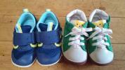 1円〜◆14、5センチcmミキハウス ムーンスター 2足セット まとめ 男の子ベビーシューズ靴