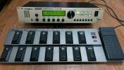DIGITECH GSP2112 金パネル改【GSP2120 2.10ROM & 日英マニュアル付】+ Roland FC-200 MIDI FOOT CONTROLLER