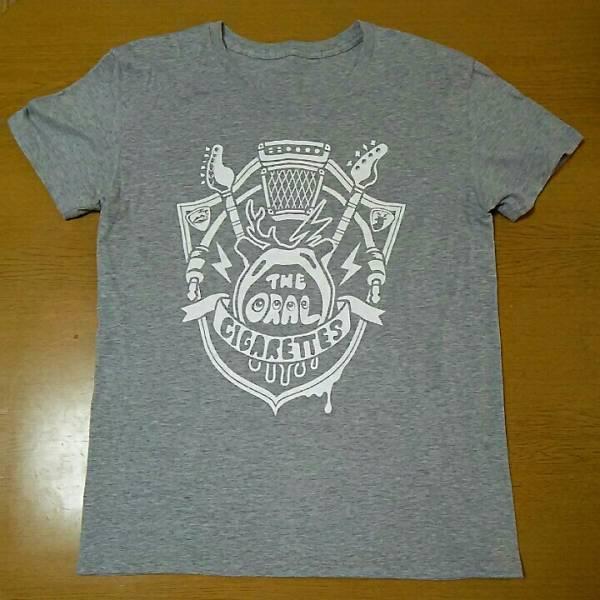 THE ORAL CIGARETTES グレーTシャツ Mサイズ