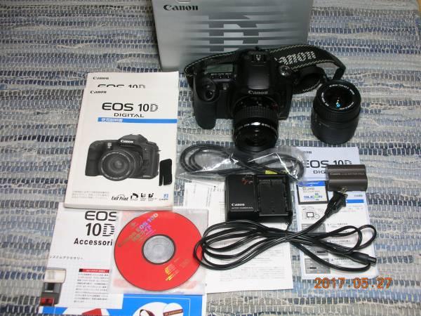 【Canon キャノン EOS 10D DIGITAL】中古 ジャンク