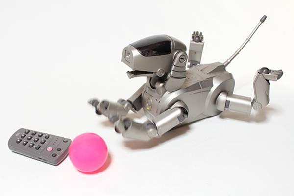貴重 レア SONY ソニー AIBO ERS-110 ロボット アイボ エンターテインメント バーチャル ペット AI 人工知能 数量限定品 日本製 可動品_画像2