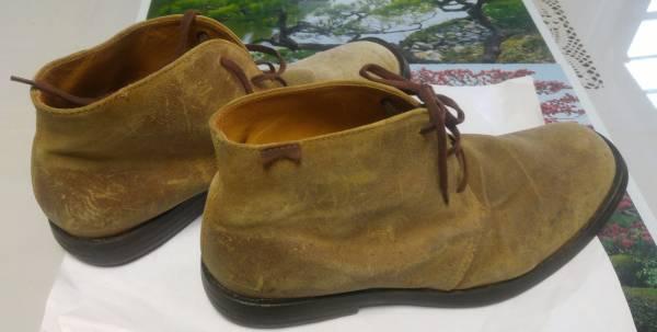 CAMPER カンペール スウェード チャッカ ブーツ size 43 27.5cm_画像2