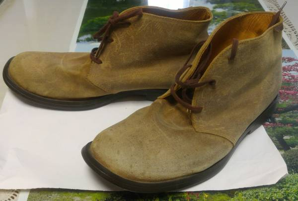 CAMPER カンペール スウェード チャッカ ブーツ size 43 27.5cm_画像1