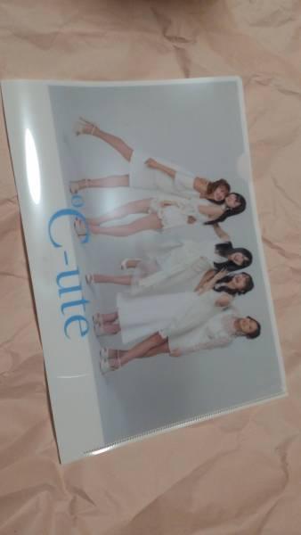 ℃OMPLETE SINGLE COLLECTION特典クリアファイル タワレコ ℃-ute ライブグッズの画像