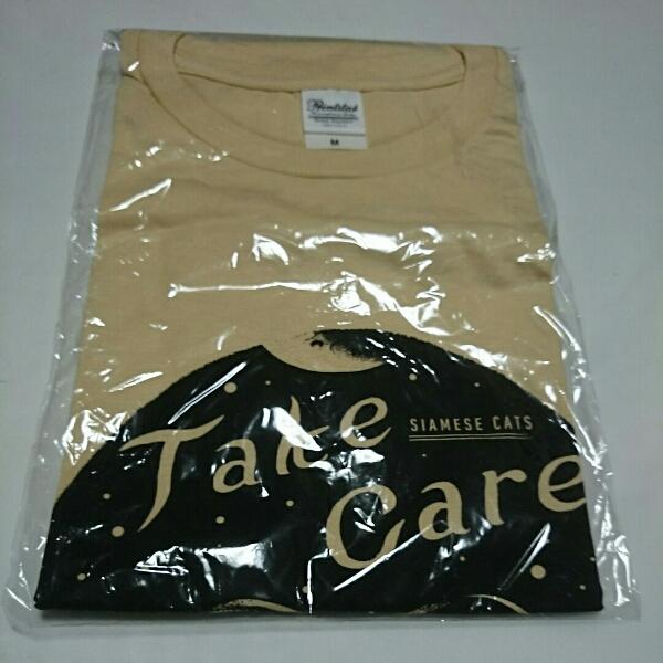 シャムキャッツ Take care Tシャツ Mサイズ