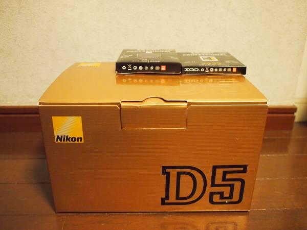Nikon D5 XQD-Typeボディ 【2016年12月ビックカメラ印メーカー保証書付き】