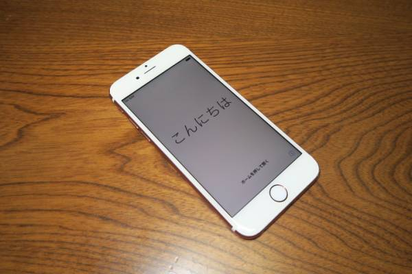 SIMフリー【iPhone6S】 16GB au ★ ローズゴールド ★ 全キャリア利用可能! 即決時豪華おまけあり_画像2