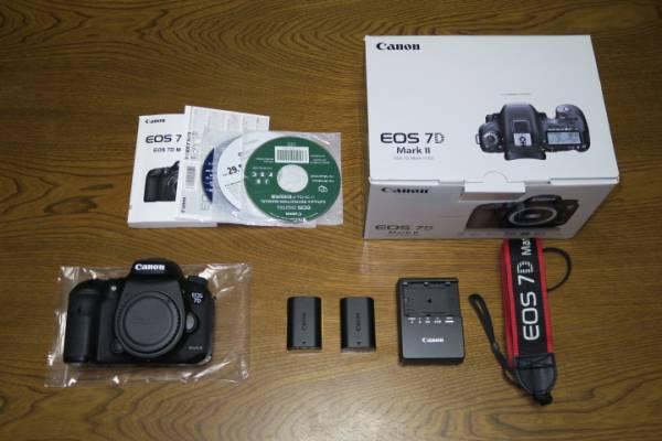 キャノン Canon EOS 7D Mark II ボディー 即決時豪華おまけあり