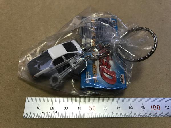 【非売品】イニシャルD キーホルダー ハチロク AE86 トレノ グッズの画像