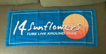 TUBE LIVE AROUND1999 ツアータオル 未使用 貴重Sun flowers