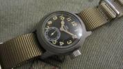第二次大戦ハミルトン海軍艦艇局軍用時計デッドストックケース!
