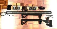 ☆JEEP wrangler ラングラー LED ライトバー フルセット!サイドライト付属です!☆即決で送料無料!