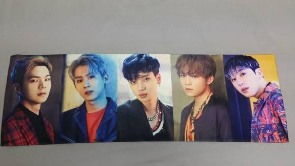 TEENTOP HIGH FIVE ミニアルバム 2枚と韓国ファンカフェスローガン ライブグッズの画像