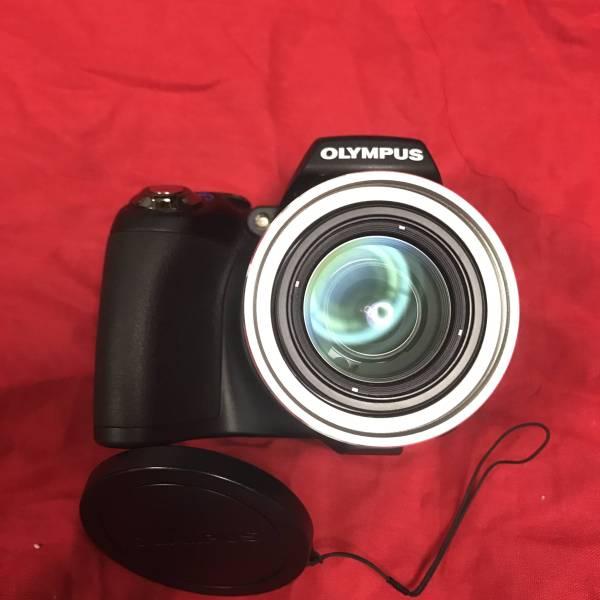1円出品  OLYMPUS デジタルカメラ SP-590UZ ブラック SP-590UZ