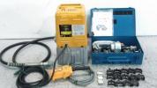 イズミ 油圧ポンプ&油圧ヘッド分離式工具16号B&ダイス多数