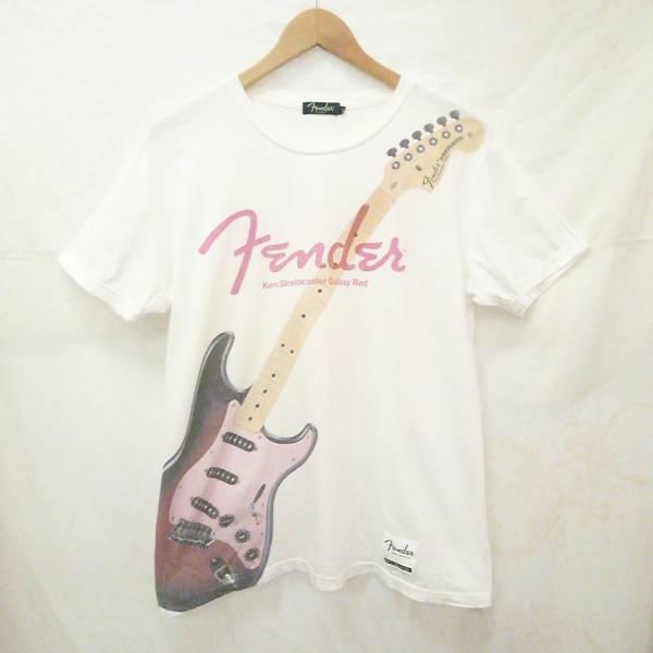 フェンダー × ラルク アン シエル ken コラボ 半袖Tシャツ FENDER ケン モデル レア