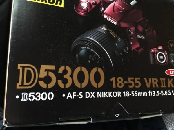 新品未開封!D5300 18-55 VR iiレンズキット