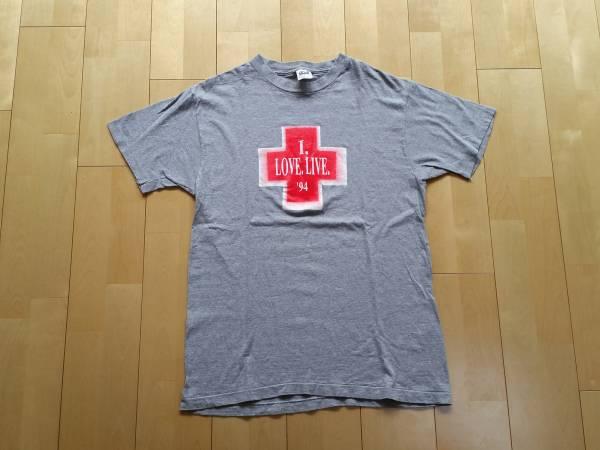貴重!1994年 USA製 高野寛 HIROSHI TAKANO spring tour I.LOVE.LIVE.'94 ツアーTシャツ